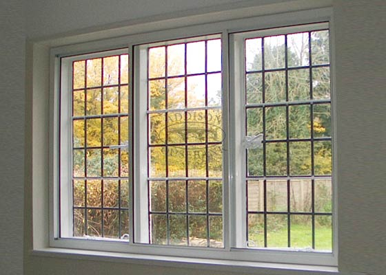 3-Panel Horizontal Sliding Window